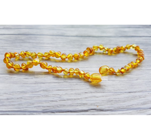 Load image into Gallery viewer, Authentic Amber Teething Necklace