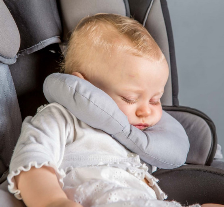 Baby Neck Pillow - Grey
