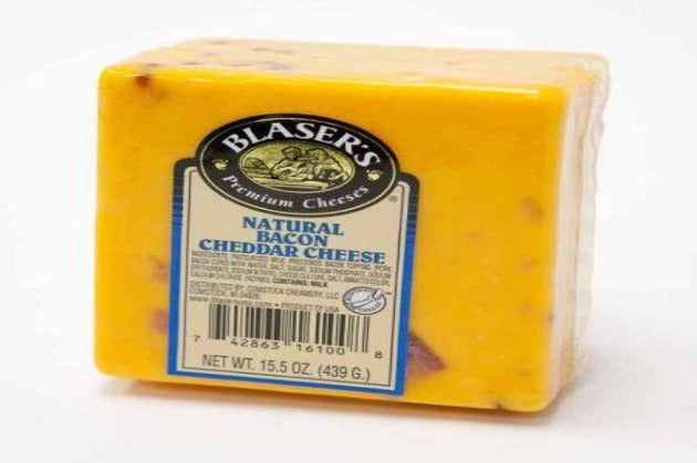 Bacon Cheddar - Blasser's Premium Cheese