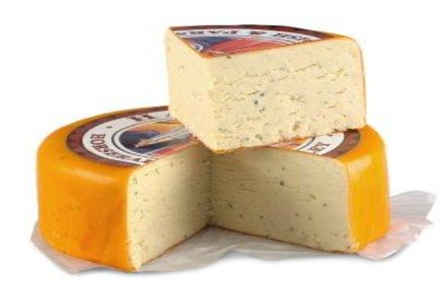 Imported - Harlech Cheddar with Horseradish & Parsley