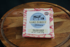 Lake Forest Red Wine White Cheddar