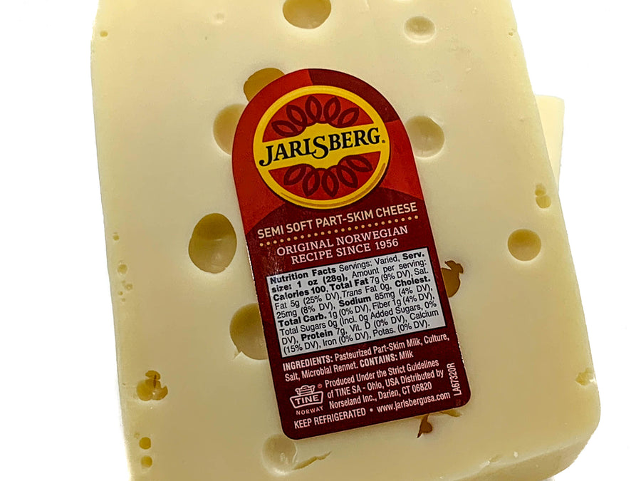Imported - Jarlsberg (Norway) Cheese 8 oz.