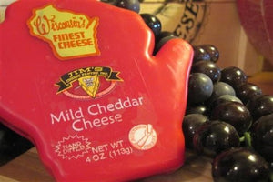 Novelty - Large Wax Wisconsin (Mild Cheddar)