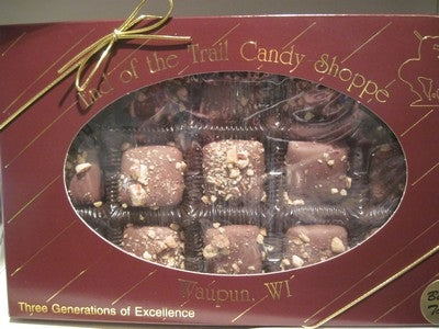 End Of The Trail Butter Toffee (15 pc. box)