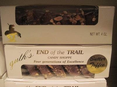 End Of The Trail Butter Toffee (4 oz.)
