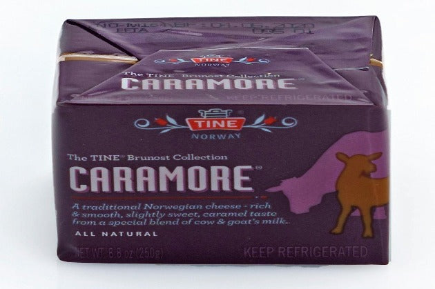 Caramore- Norwegain Cow and Goat Milk Cheese- 8.8 oz