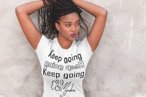 Keep Going Short Sleeve Tee