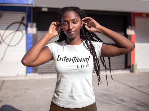 Intentional Life Short Sleeve Tee
