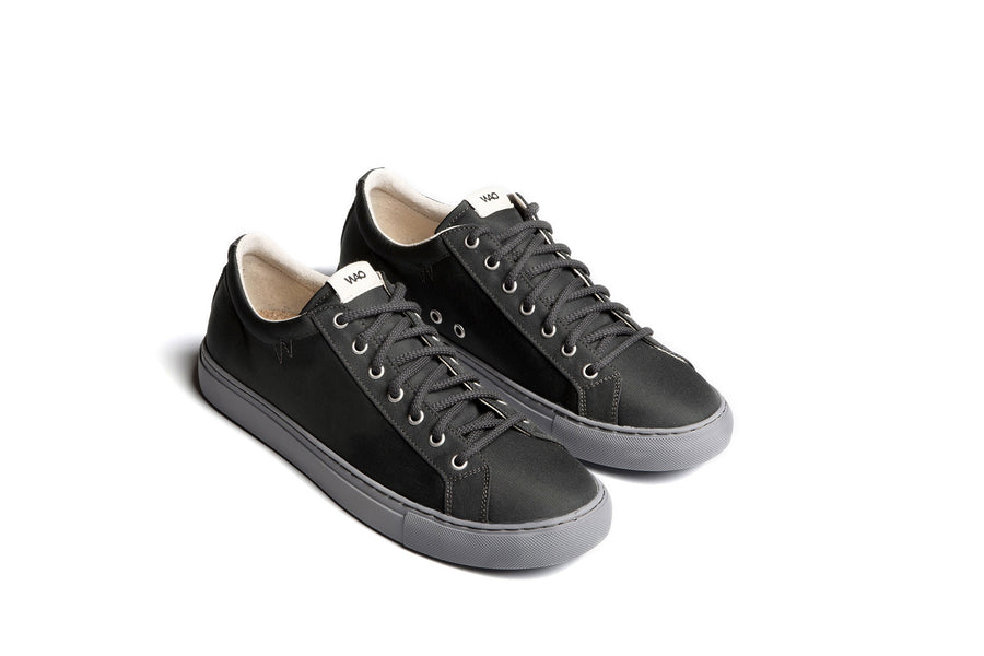 WAO LOW TOP NYLONG GRAPHITE AND GREY