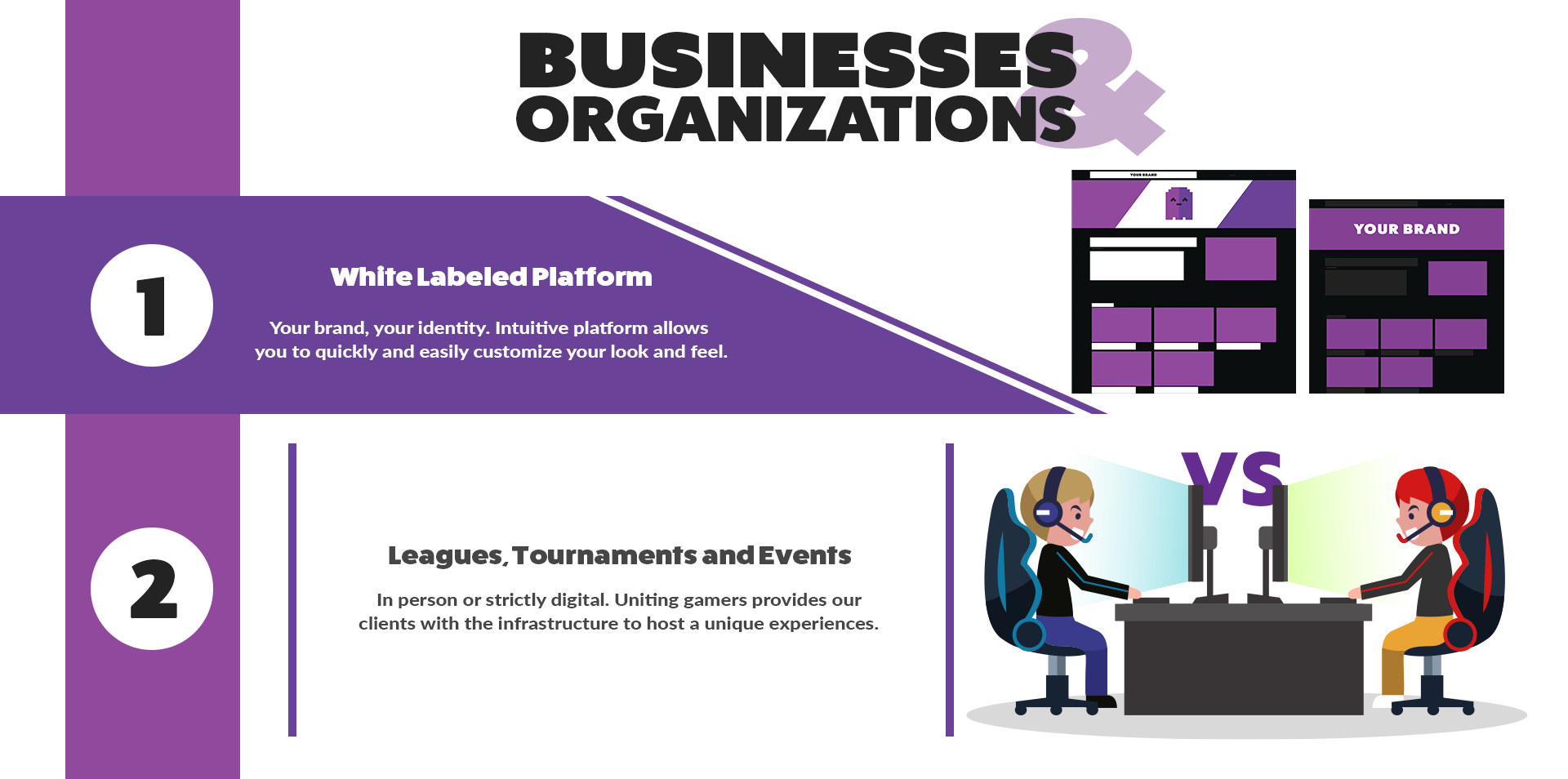 Businesses and Organizations