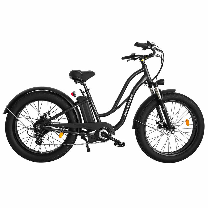 Fat Tire Electric Cruiser Bike Maxfoot MF-17