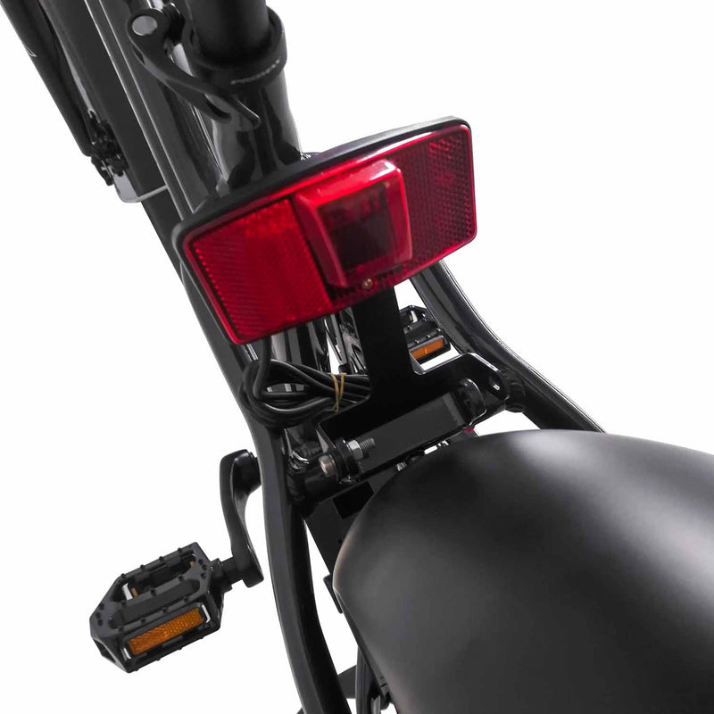 Fat Tire Electric Cruiser Bike Maxfoot MF-17 Tail Light