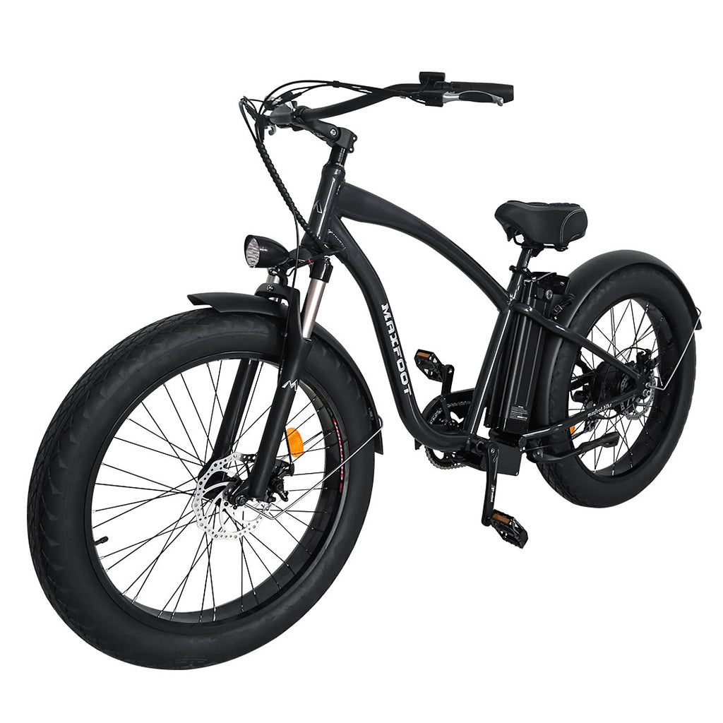 MF-18 500W Fat Electric Bike Beach Cruiser