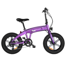 Load image into Gallery viewer, MaxFoot MF-19 750 Bafang 750W 14AH Electric Foldable Fat Bike 20 Inch Integral Wheel