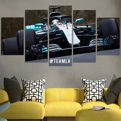 TEAMLH Lewis Hamilton Canvas
