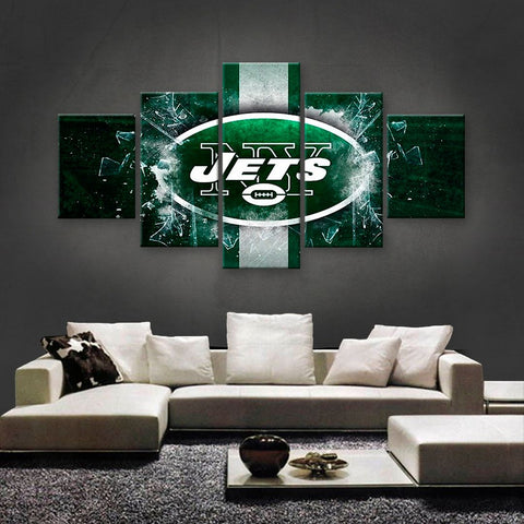 New York Jets Power Canvas
