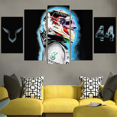 Lewis Hamilton #44 Canvas