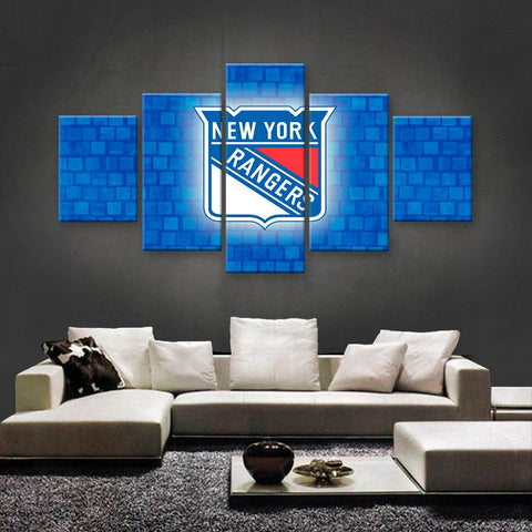 New York Rangers Power Canvas