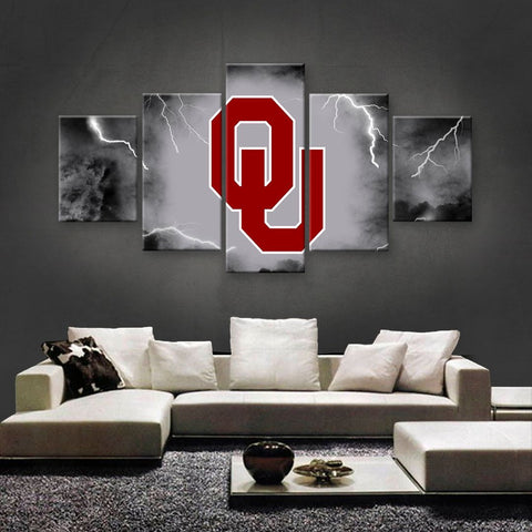 Oklahoma Sooners  Power Canvas