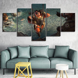 Apex Legends Game Poster 5 Piece Fantasy Canvas
