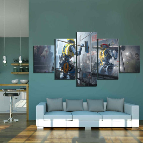 Apex Legends 5 Piece Fantasy Wall Art Canvas