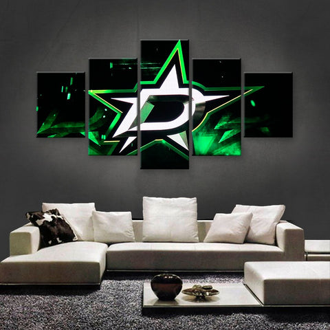 Dallas Stars Power Canvas