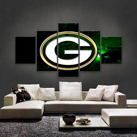 Green Bay Packers Power Canvas