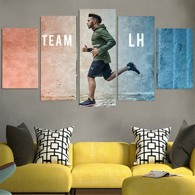 Team LH Lewis Hamilton Canvas