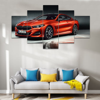BMW 8 Series Sports Car Canvas