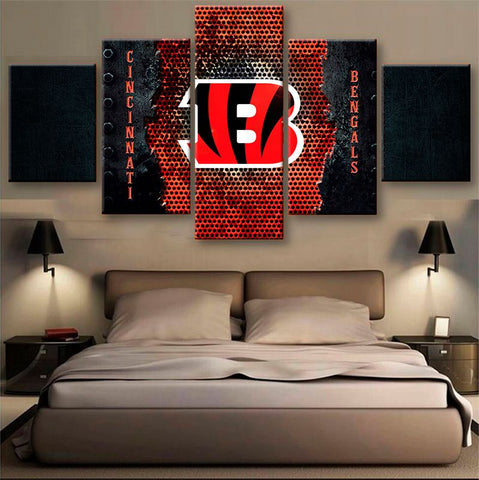 Cincinnati Bengals Power Canvas