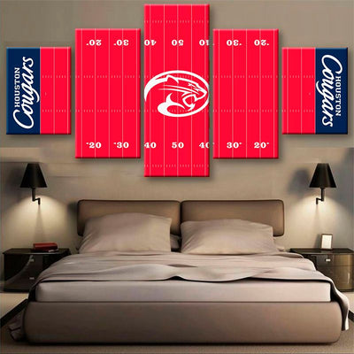 Houston Cougars  Power Canvas