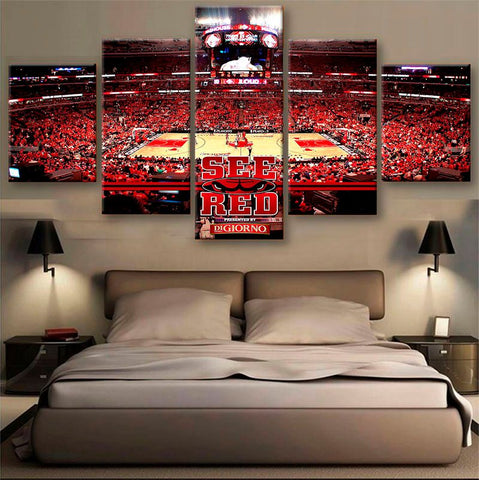 The Windy City - Chicago Bulls Power Canvas