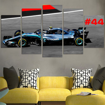 Lewis Hamilton #44 Petronas Car Canvas