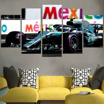 Team LH Cool Car - Lewis Hamilton Canvas