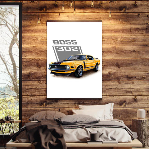 The Ford Mustang Boss 302