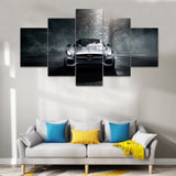 Silver Mercedes-Benz Car Canvas