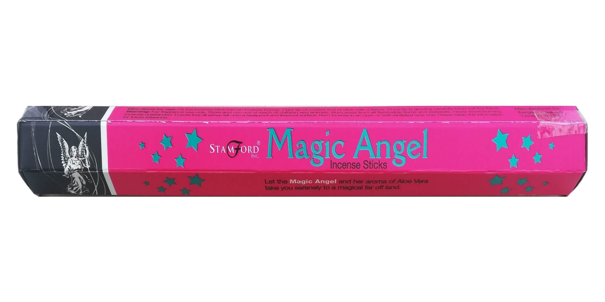 Stamford Black Angel Incense Sticks Buy 3 Get 1 Free The Crystal Magick
