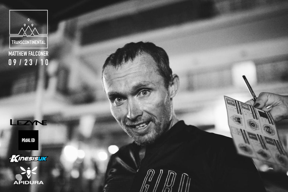 Catching up with Transcontinental Legend, Matt Falconer