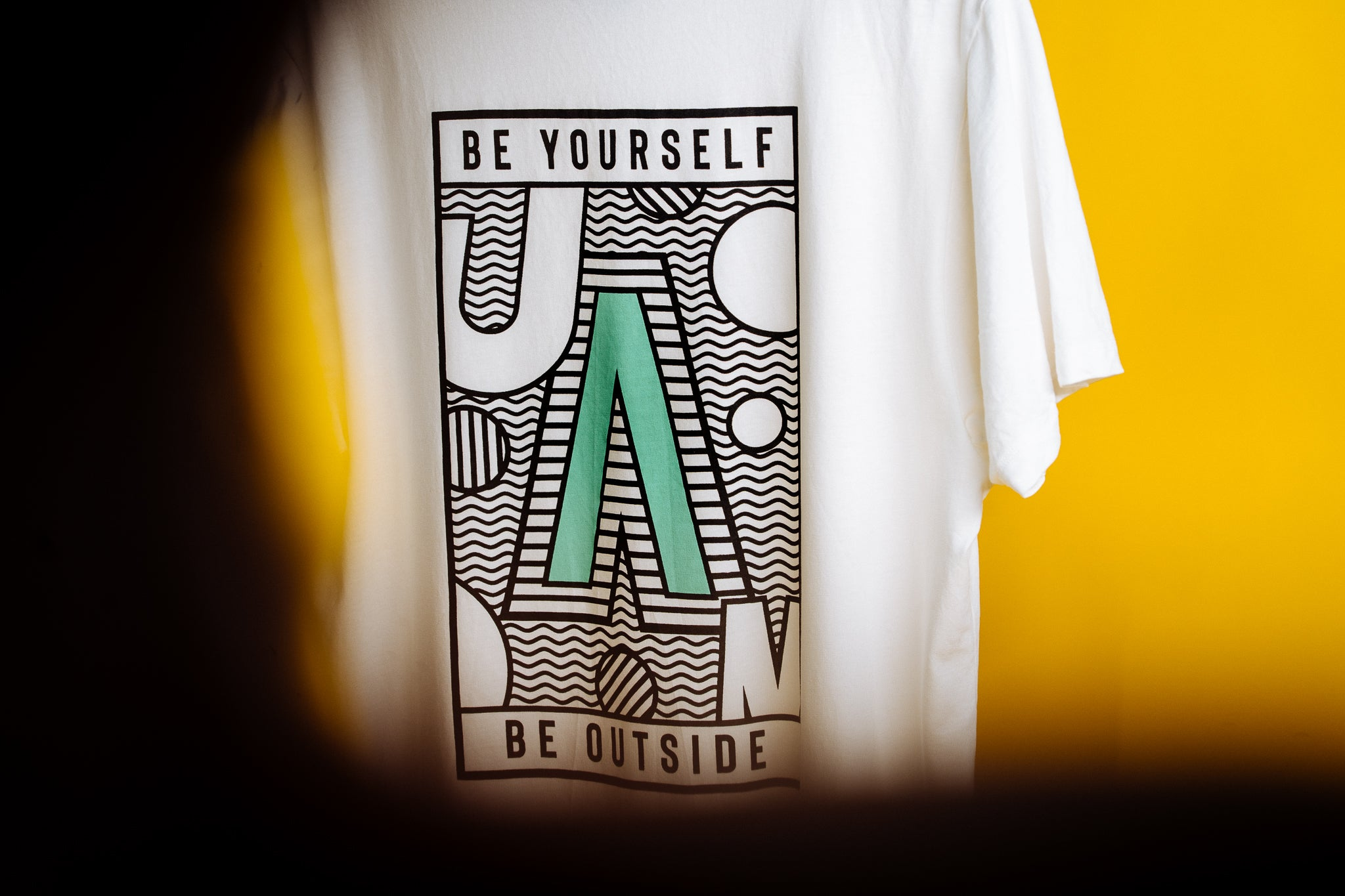 Be Yourself Be Outside Tee