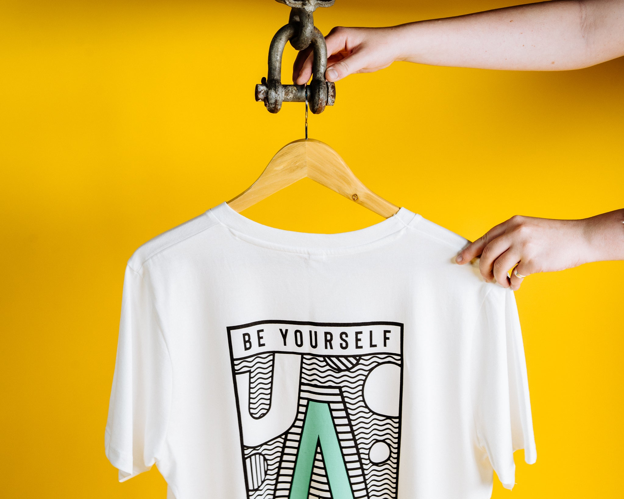 Be Yourself Be Outside Tee - LONG