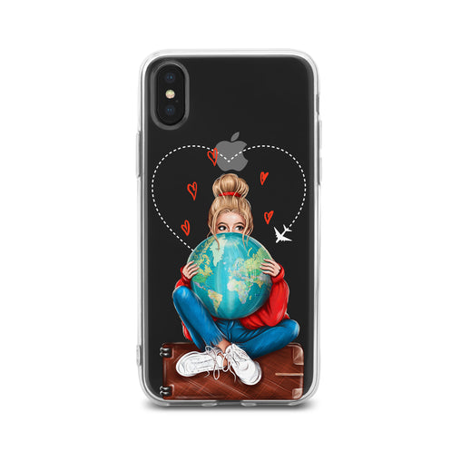 Lex Altern TPU Silicone Phone Case Magic Traveling Girl
