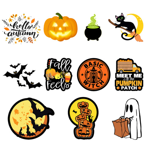 Lex Altern Stickers Set Halloween
