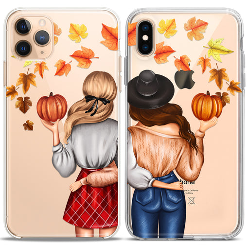 Lex Altern TPU Silicone Couple Case Autumn Mood