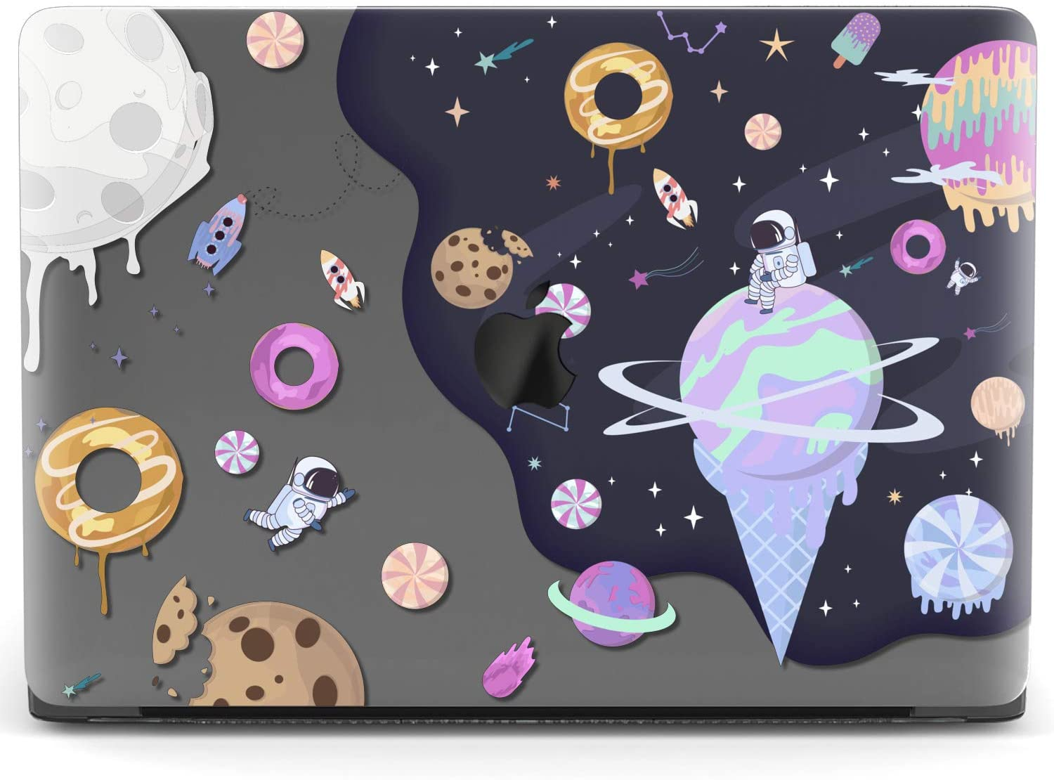 Lex Altern Hard Plastic MacBook Case Sweet Cookies and Planets