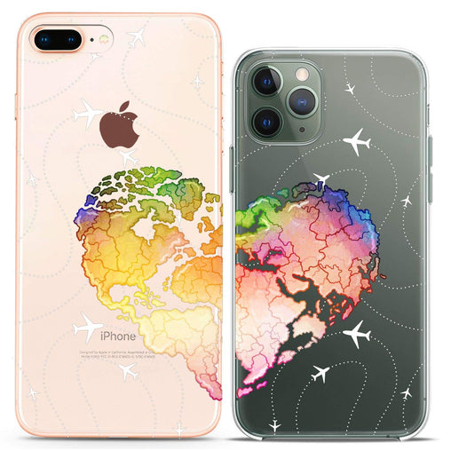 Lex Altern TPU Silicone Couple Case Travel