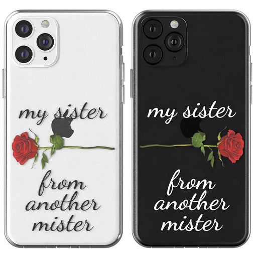 Lex Altern TPU Silicone Couple Case My Sister