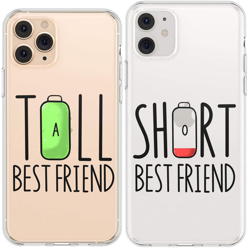 Lex Altern TPU Silicone Couple Case Tall and Short