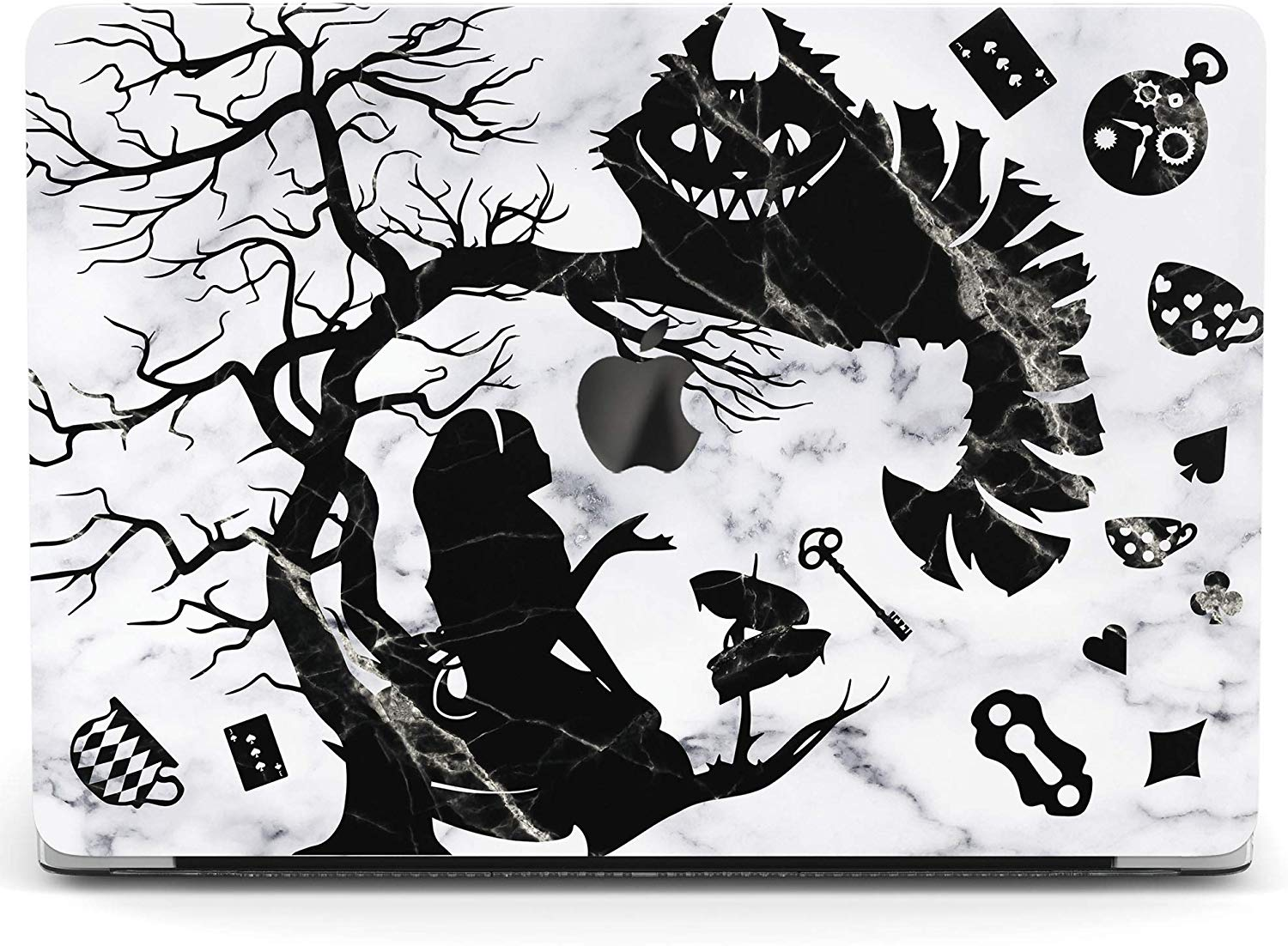 Lex Altern Hard Plastic MacBook Case Alice