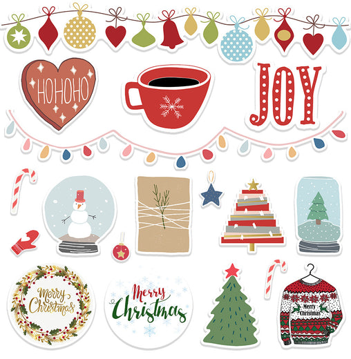Lex Altern Stickers Set Christmas