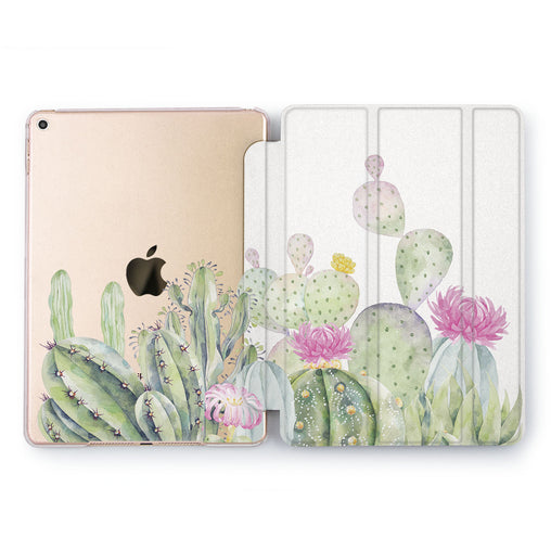 Lex Altern Green Cactus Case for your Apple tablet.